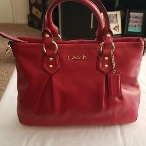 Coach Red Handbag/Crossbody